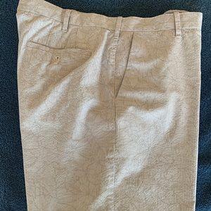 Izod Seersucker Bermuda Shorts